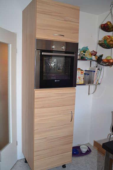 nobilia einbauk che 1. Black Bedroom Furniture Sets. Home Design Ideas