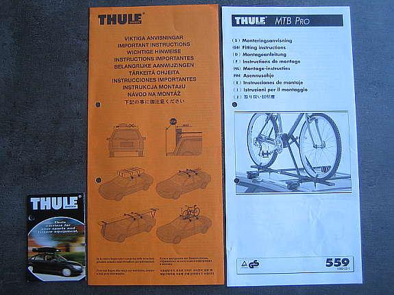 fahrradtr ger thule mtb pro 559 abschlie bar 2 stk 1. Black Bedroom Furniture Sets. Home Design Ideas