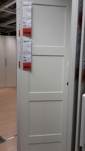 Ikea Schranktüren ikea: pax zwei weisse tÜren bergsbo, neu - hoork