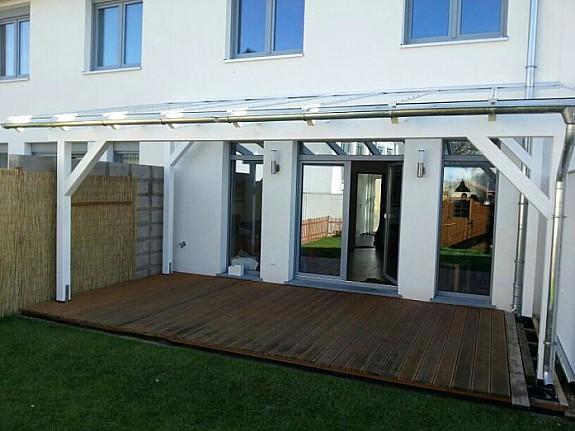 Relativ Terrassenüberdachung Stegplatten Oder Glas # Inspiration für die BH09