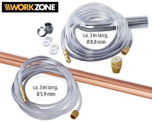 Abflussreiniger Set 9 Teilig Von Workzone Hoork Com