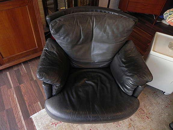 Ein Cooler Vintage Rindleder Sessel Von Rolf Benz   Modell Creation 4600    Mit Gütepass.